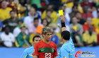 图文:葡萄牙0-0巴西 科恩特劳吃到黄牌