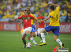 图文:葡萄牙0-0巴西 杜达突破