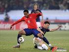 图文:智利VS西班牙 博塞豪尔被逼抢