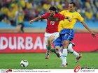 图文:葡萄牙0-0巴西 达尼突破