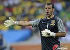 图文:葡萄牙0-0巴西 爱德华多大吼