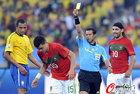图文:葡萄牙0-0巴西 佩佩吃到黄牌