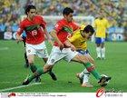 图文:葡萄牙0-0巴西 科斯塔防守凶狠