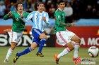图文:阿根廷3-1墨西哥 迪马利亚受阻