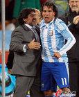 图文:阿根廷3-1墨西哥 老马特维斯