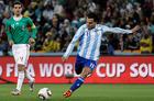 高清:阿根廷3-1墨西哥 特维斯爆射梅开二度
