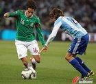 图文:阿根廷3-1墨西哥 华雷斯突破