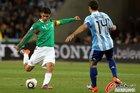 图文:阿根廷3-1墨西哥 马科斯劲射