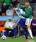 图文:阿根廷3-1墨西哥 迪马利亚被严防