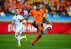 荷兰2-1斯洛伐克 范布隆克霍斯特带球