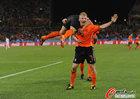荷兰2-1斯洛伐克 斯内德推射破门回放