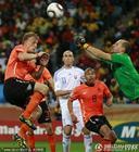 图文:荷兰2-1斯洛伐克 穆哈飞起出击