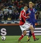 2010年6月24日 小组赛对阵丹麦 助攻