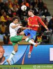 图文:西班牙1-0葡萄牙 拉莫斯高空争顶