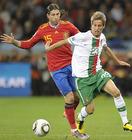图文:西班牙1-0葡萄牙 科恩特劳防守拉莫斯