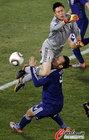 图文:巴拉圭VS日本 川岛永嗣解围