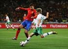 图文:西班牙1-0葡萄牙 皮克防守科恩特劳