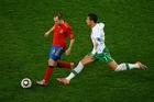 图文:西班牙1-0葡萄牙 C罗直追伊涅斯塔