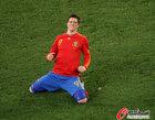 图文:西班牙1-0葡萄牙 托雷斯跪地