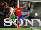 图文:西班牙1-0葡萄牙 布斯克茨防守
