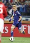 2010年6月24日 世界杯小组赛对阵丹麦比赛中