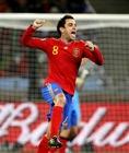 图文:西班牙1-0葡萄牙 哈维很兴奋