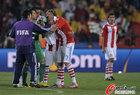 图文:巴拉圭0-1西班牙 卡多佐无比痛苦
