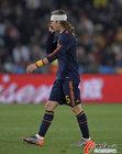 图文:巴拉圭0-1西班牙 拉莫斯头缠绷带