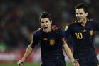 比利亚戏剧性进球西班牙晋级