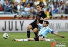 图文:阿根廷0-4德国 马斯切拉诺飞铲