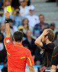 图文:阿根廷0-4德国 赫迪拉领黄牌