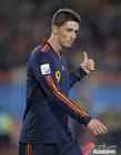 图文:巴拉圭0-1西班牙 托雷斯竖大拇指