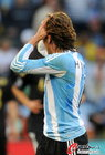 图文:阿根廷0-4德国 海因策痛苦