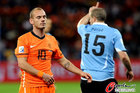 乌拉圭VS荷兰 斯内德失落