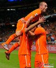 乌拉圭VS荷兰 斯内德激动无比