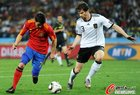 图文:德国0-1西班牙 比利亚突破
