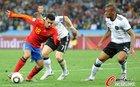 图文:德国0-1西班牙 佩德罗前进