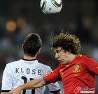 图文:德国0-1西班牙 普队PK克洛泽