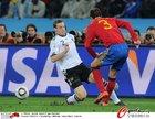 图文:德国0-1西班牙 皮克防守