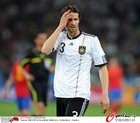 图文:德国VS西班牙 弗里德里希懊恼