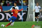 图文:德国0-1西班牙 佩德罗射门