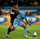 图文:乌拉圭2-3德国 里奥斯护球盘带