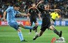 乌拉圭2-3德国 苏亚雷斯劲射