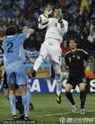 乌拉圭VS德国 穆斯莱拉脱手