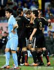 乌拉圭2-3德国 穆勒破门