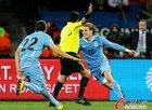 德国3-2乌拉圭 弗兰进球后庆祝