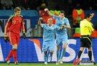 图文:乌拉圭2-3德国 里奥斯兴奋