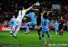 乌拉圭2-3德国 穆斯莱拉飞身扑救