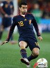 图文:荷兰VS西班牙 佩德罗直传