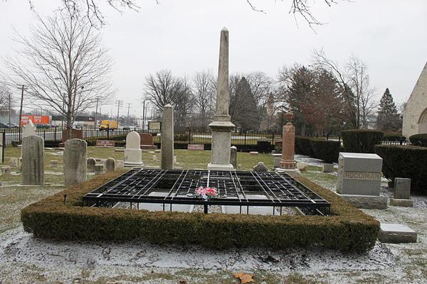 福特的墓地